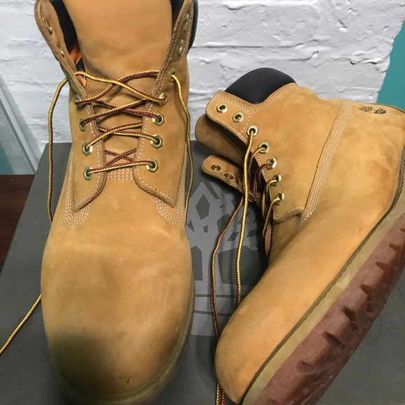 Timberland Boots Wheat Color, Size 13